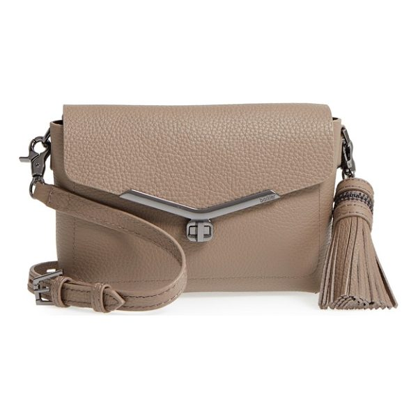BOTKIER vivi leather crossbody bag - Polished logo-embossed hardware and simple lines further...