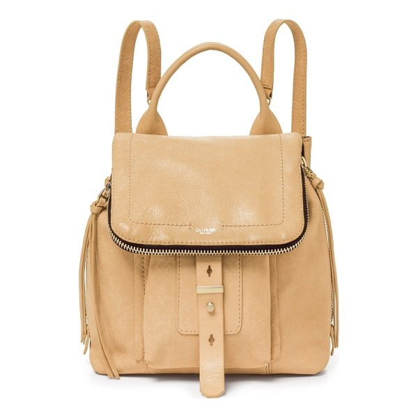 BOTKIER warren leather backpack - Slim straps and a modern flap further the street-chic vibe...