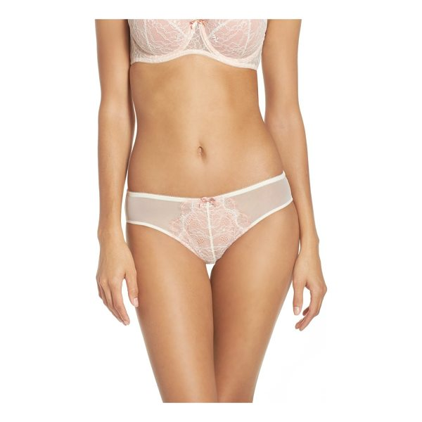 B.TEMPT'D BY WACOAL 'b sultry' bikini - A Chantilly lace front brings French design-inspired...