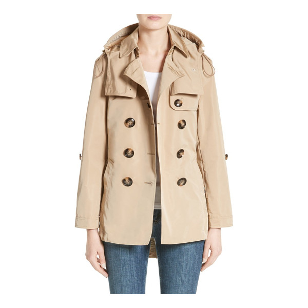 BURBERRY knightsdale trench coat - Trench-inspired design elevates a utility anorak equipped...