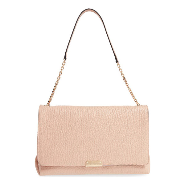 BURBERRY Large mildenhall signature grain leather shoulder bag - With its softly structured design in Burberry's rich,...