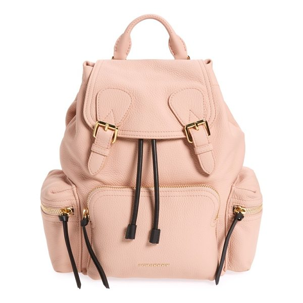 BURBERRY medium rucksack deerskin backpack - Featuring a silhouette influenced by military archive...
