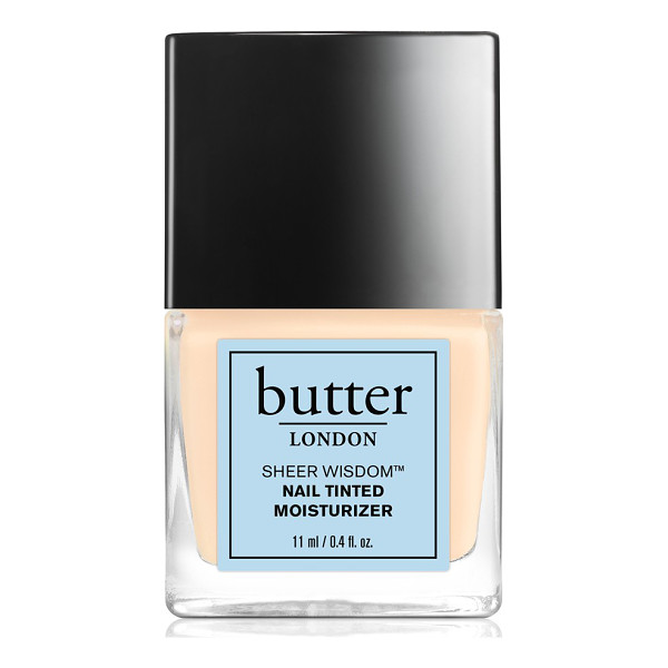 BUTTER LONDON Sheer wisdom - This all-in-one tinted moisturizing treatment protects nail...