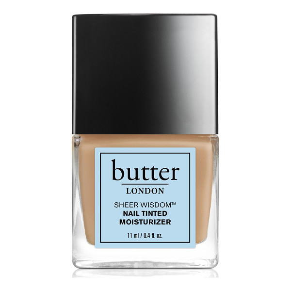 BUTTER LONDON 'sheer wisdom(tm)' nail tinted moisturizer - This all-in-one tinted moisturizing treatment protects nail