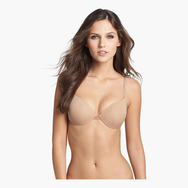 CALVIN KLEIN icon modern underwire t-shirt bra - The molded microfiber cups of a lightly padded T-shirt bra...