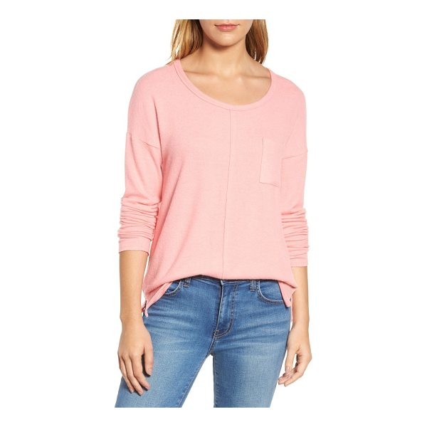 CASLON caslon cozy knit long sleeve tee - You'll be glad this scoop-neck pullover comes in multiple...