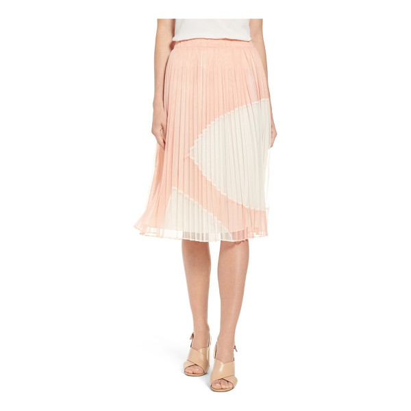 CATHERINE CATHERINE MALANDRINO francis pleat tulle skirt - Unexpectedly fashioned from airy tulle, a crisply pleated...