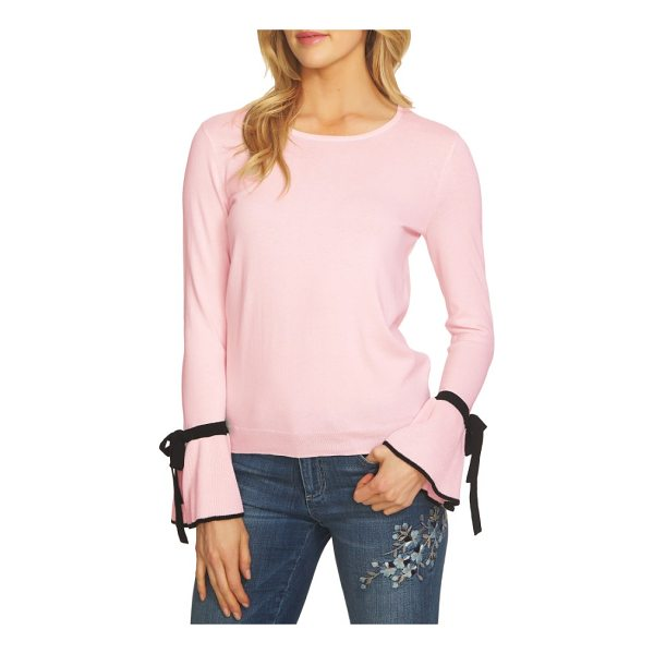 CECE BY CYNTHIA STEFFE bow cuff sweater - The refined, ladylike sweater is back in season with this...
