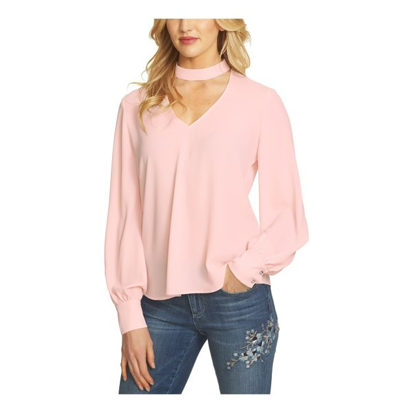 CECE BY CYNTHIA STEFFE choker blouse - Upgrade your everyday wardrobe with this light and flowy...