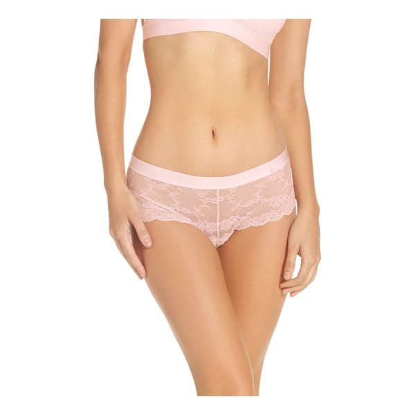 CHANTELLE everyday lace hipster panties - Made entirely of sheer scalloped lace, these hipster...