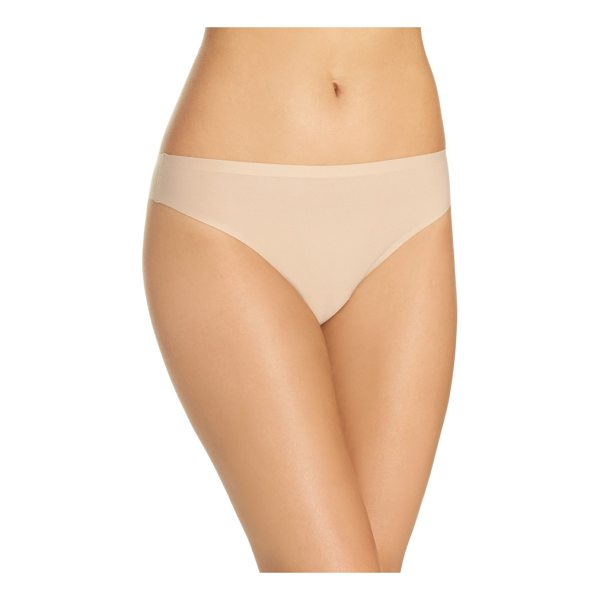 CHANTELLE soft stretch seamless thong - A soft and stretchy thong cut with clean edges is designed...