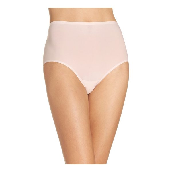 CHANTELLE soft stretch high waist seamless briefs - Everyday high-rise briefs cut from a supersoft and comfy...