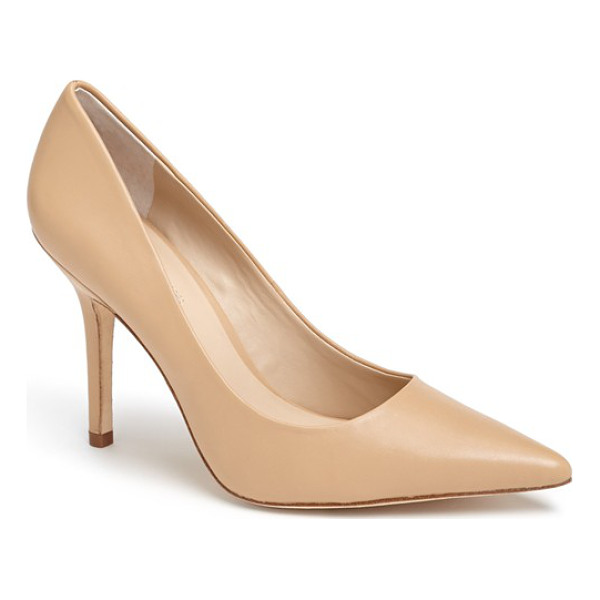 CHARLES BY CHARLES DAVID Charles david sway ii pointy toe pump - An immaculate single-sole pump with a pointed toe is lifted...