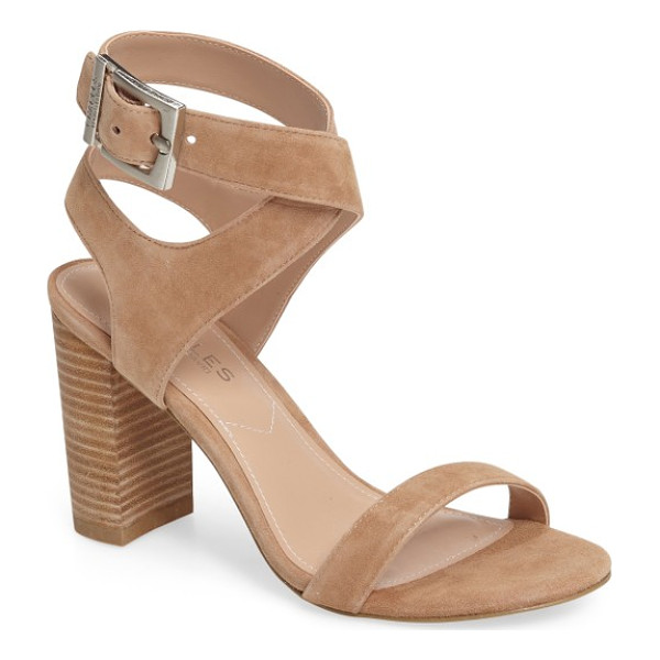 CHARLES BY CHARLES DAVID eddie sandal - A wide buckle strap furthers the contemporary appeal of a...