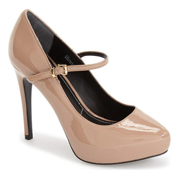 CHARLES BY CHARLES DAVID faye mary jane platform pump - A slim mary-jane strap adds vintage sophistication to a...