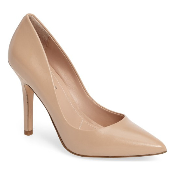 CHARLES BY CHARLES DAVID maxx pointy toe pump - Comfort and stylish sophistication fuse together in a...