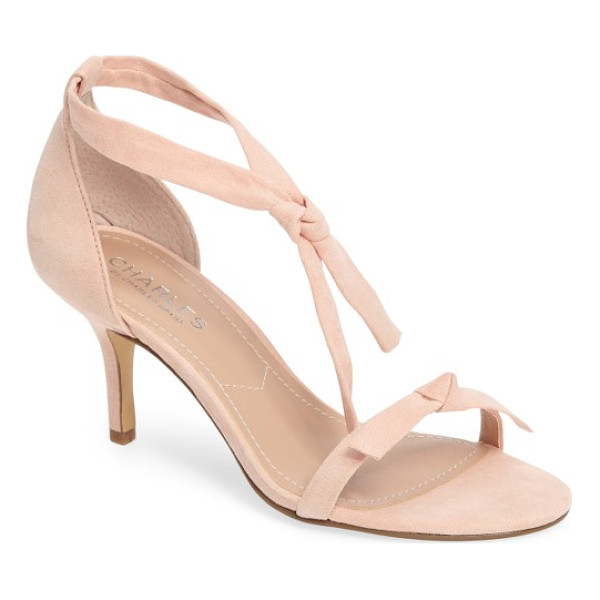 CHARLES BY CHARLES DAVID nova sandal - Casually knotted straps add to the cool, casual look of a...
