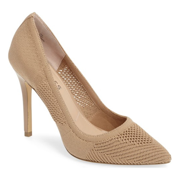 CHARLES BY CHARLES DAVID pacey knit pump - Distinctive stretch knit further elevates a classic...