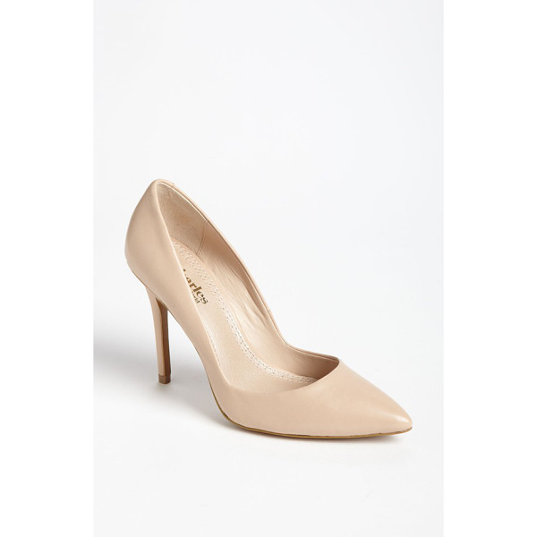 CHARLES BY CHARLES DAVID pact pump - A low-cut topline maximizes the leg-lengthening chic of a...