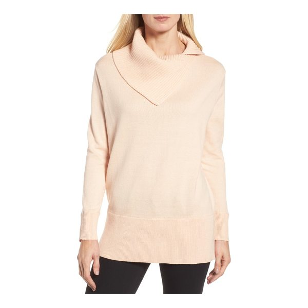 CHAUS cowl neck sweater - The kind of pullover you'll live in all season long...
