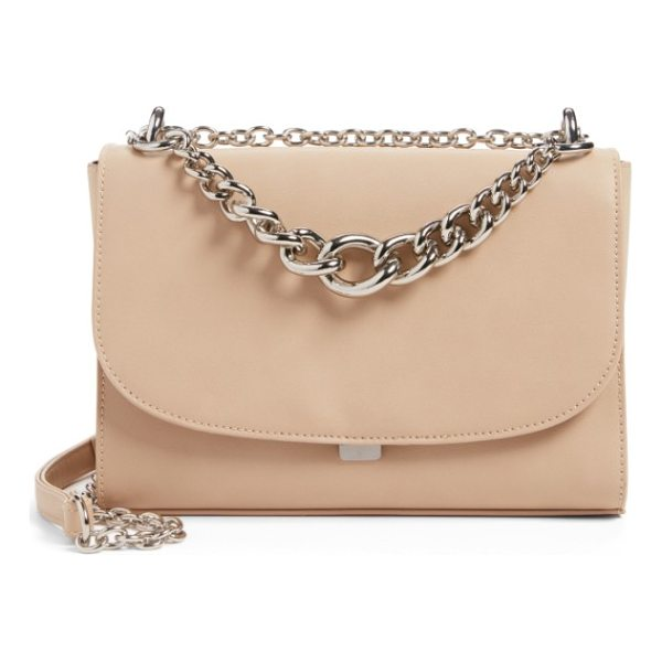 CHELSEA28 chace faux leather shoulder bag - As posh as it is practical, this svelte little bag is...