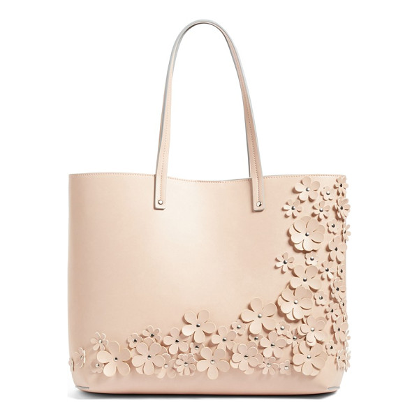 CHELSEA28 olivia floral faux leather tote - As beautiful as it is practical, this versatile tote cut...