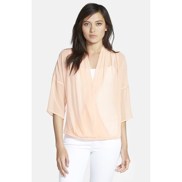 CHELSEA28 kimono wrap top - Available in a wide variety of solid colors and prints,...