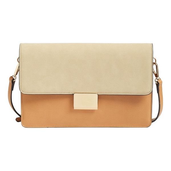CHELSEA28 leighton colorblock faux leather crossbody bag - Look chic and stylish on an everyday basis with this sleek...