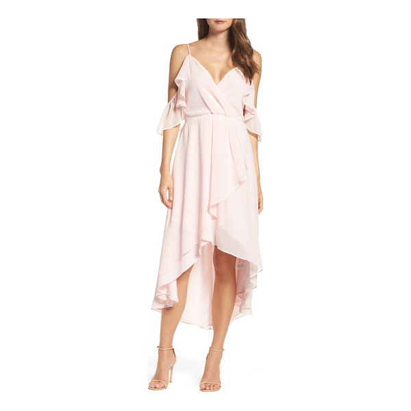 CHELSEA28 ruffle off the shoulder dress - Delicate, romantic and oh so versatile, this...