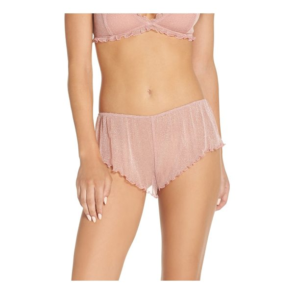 CHELSEA28 shimmer nights knicker shorts - All about delicacy and romance, these shimmery,...