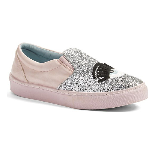 CHIARA FERRAGNI flirting slip-on sneaker - Fun, flirty, feminine and fabulous: This newest take on...