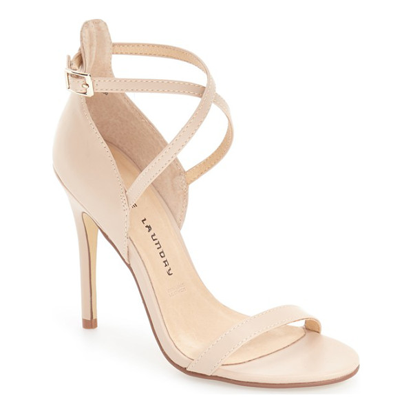 CHINESE LAUNDRY 'lavelle' ankle strap sandal - Crossover ankle straps extend the modern sophistication of