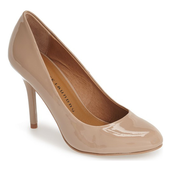 CHINESE LAUNDRY palace almond toe pump - A clean-lined almond-toe pump channels elegant versatility,...