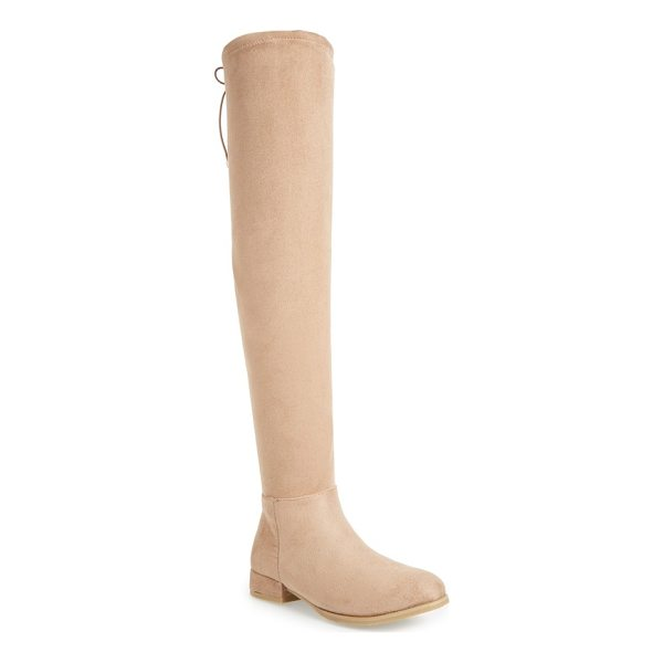 CHINESE LAUNDRY rashelle over the knee stretch boot - A stretchy over-the-knee shaft follows the contours of your...