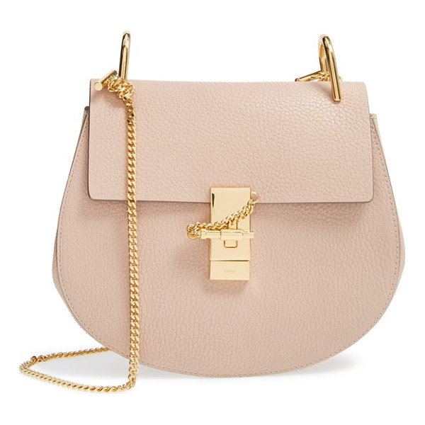 CHLOE drew leather shoulder bag - Chloe's newest take on the saddle bag is the epitome of