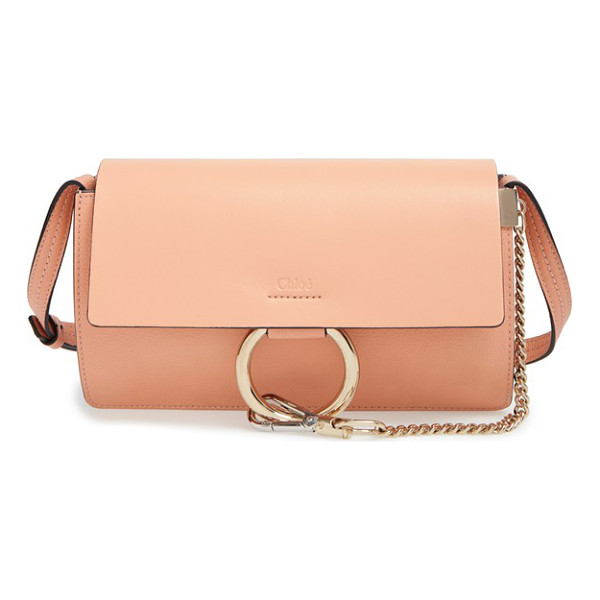 CHLOE Small faye shoulder bag - Refined femininity with a modern edge: A flawless leather...