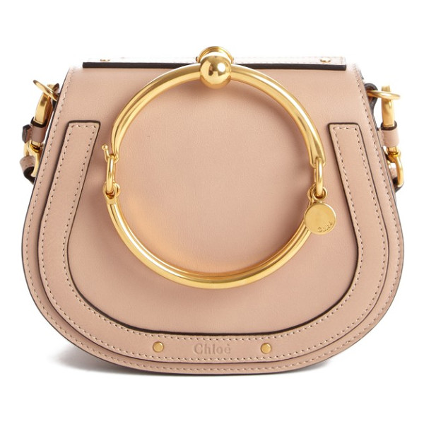 CHLOE small nile bracelet leather crossbody bag - Equestrian-inspired lines accentuate the simple, practical