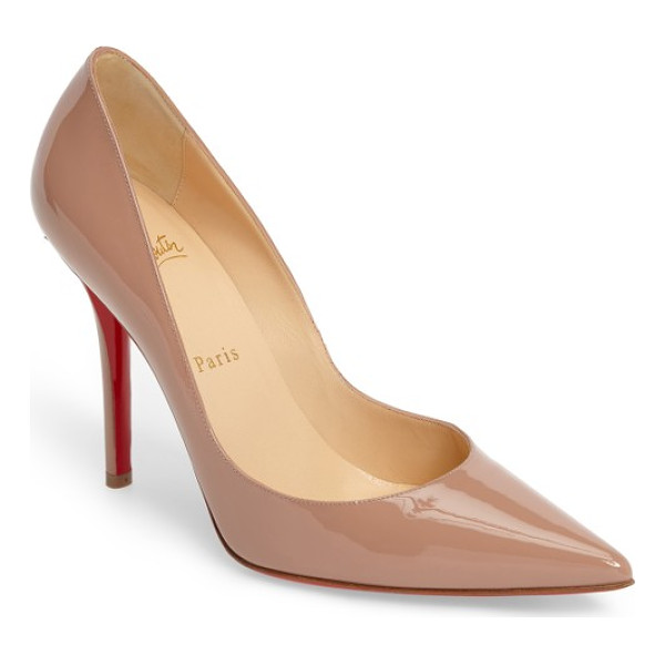 CHRISTIAN LOUBOUTIN apostrophy pointy toe pump - Timeless in its design, the Christian Louboutin Apostrophy...