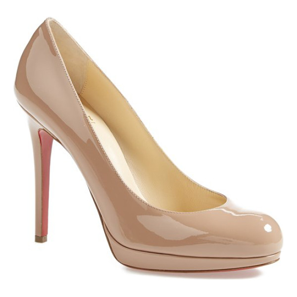 CHRISTIAN LOUBOUTIN 'new simple' pump - The New Simple stiletto takes its cues from Christian...