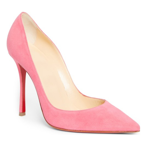 CHRISTIAN LOUBOUTIN so kate pointy toe pump - This glossy So Kate pump boasts Christian Louboutin's...