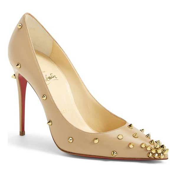 CHRISTIAN LOUBOUTIN spike pointy toe pump - Full of unstoppable attitude, Christian Louboutin's Spike...