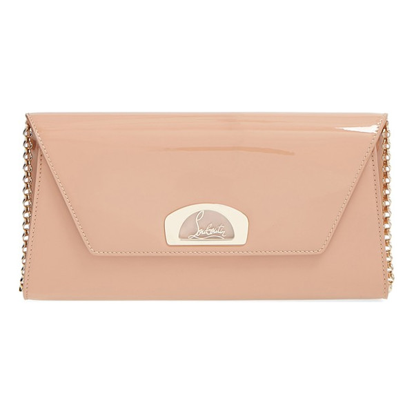 CHRISTIAN LOUBOUTIN 'vero dodat' patent clutch - Inspired by the covered arcade where Christian Louboutin's...