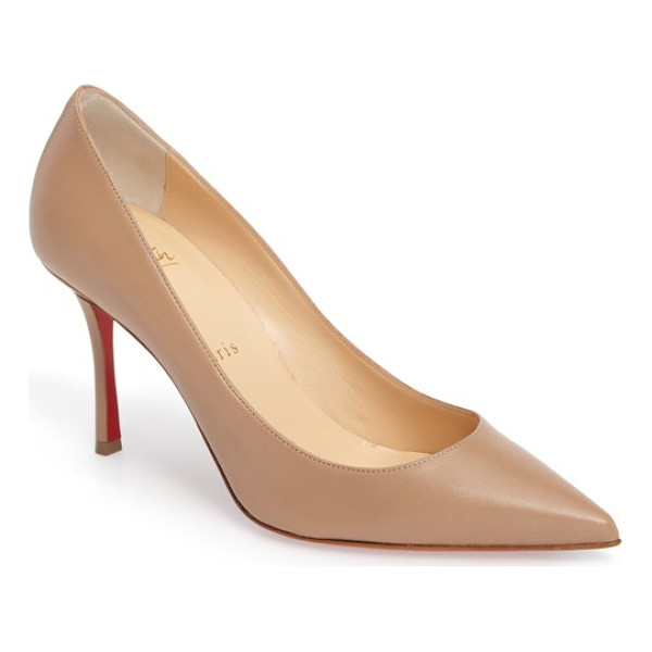 CHRISTIAN LOUBOUTIN decoltish pointy toe pump -