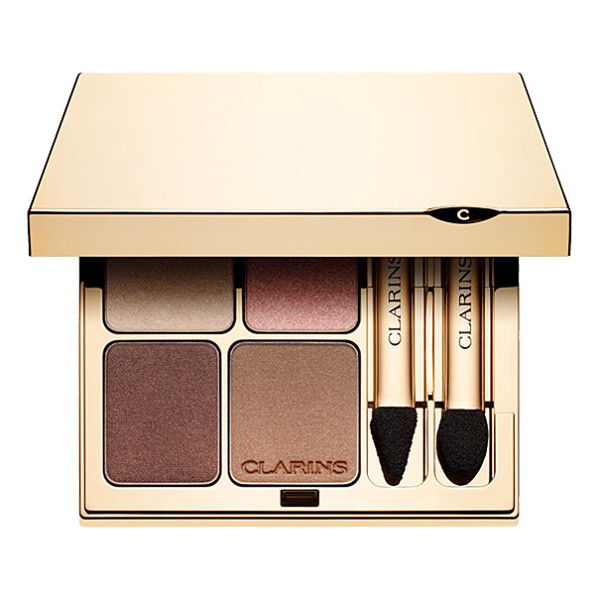 CLARINS Eye quartet mineral palette - A wet and dry mineral formula that provides softness upon...