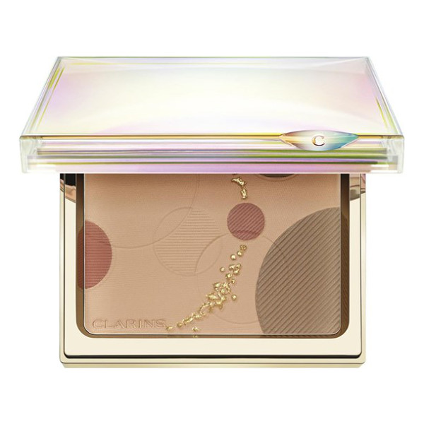 CLARINS Luminous face palette - Clarins brings you a palette of three silky powders that...