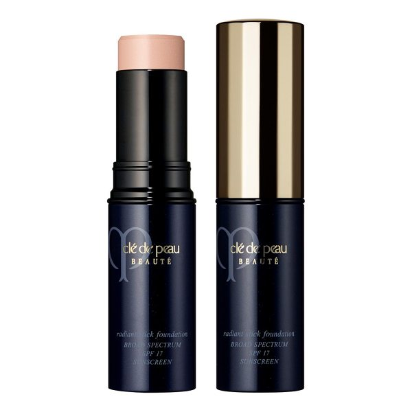 CLE DE PEAU BEAUTE radiance stick foundation broad spectrum spf 17 - What it is: A whisper-light, sheer dewy stick with a divine...