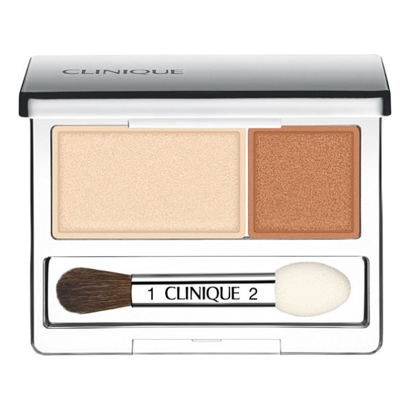 CLINIQUE all about shadow eyeshadow duo - What it is: Long-wearing powder eye color in complementary...