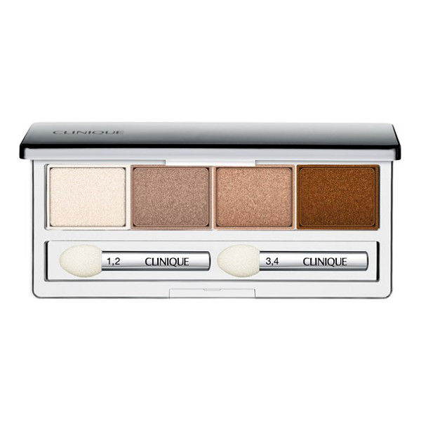 CLINIQUE All about shadow eyeshadow quad - Clinique All About Shadow Eyeshadow Quad is a versatile,...