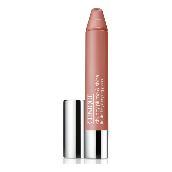 CLINIQUE chubby plump & shine liquid lip plumping gloss - What it is: A moisture-rich, liquid lip-plumping gloss that...