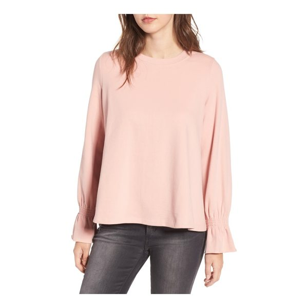 CODEXMODE cinch cuff pullover - Cinched at the cuffs to create playful volume, this...